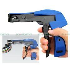 Plastic Nylon Zip Tie Gun Tension Fastening Cutting Tool Fasteners Cut Cable Tie
