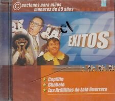 Chabelo Cepillin Las Ardillitas de Lalo Guerrero 20 Exitos CD New Sealed