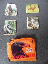 Lot Vintage Rare comme Panini Mes Oiseaux Ed Bobier 39 stickers+pochettes vides