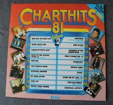 Chart Hits 81 vol 2, michael Jackson madness squeeze ect ..., LP - 33 Tours