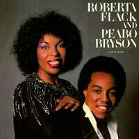 Roberta Flack And Peabo Bryson - Live & More (Vinyl 2LP - 1980 - US - Original)