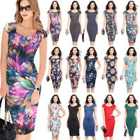 Women Bandage Bodycon Formal Work Evening Party Cocktail Pencil Slim Dress