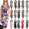 Womens Bandage Bodycon Formal Work Evening Sexy Party Cocktail Pencil Slim Dress