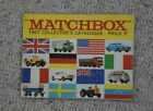 1967 Original Vintage MATCHBOX TOYS Collectors Catalogue - VGC