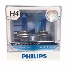 New Pair Of Philips Diamond Vision H4 12 Volt 55/60 Watts 5000k Car Bulbs