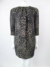 Matthew Williamson Mini Leopard Print Beaded Dress Size IT 42 UK 10 BNWTS
