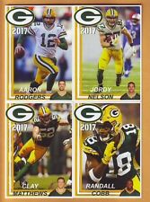 COMPLETE 2017 Green Bay Packers Police TEAM SET - Rodgers Matthews Jordy Dix +