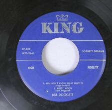 Jazz 45 Bill Doggett - 1. You Don'T Know What Love Is  2. Misty Moon / 1. I'Ll B
