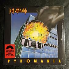 DEF LEPPARD: Pyromania Limited Edition Red Vinyl LP - NEW SEALED