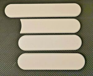 New Reproduction Peugeot 205 Gti Side Badges White Blank