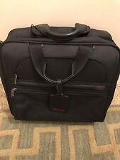 Tumi Expandable With Wheels Nylon Carry On Laptop Bag