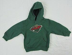 Minnesota Wild NHL Youth Kid's Pullover Hoodie Green 3T 4T S M XL