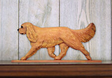 Cavalier King Charles Spaniel Dog Figurine Sign Plaque Display Wall Decoration R