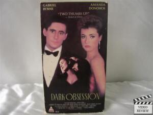 Dark Obsession VHS Gabriel Byrne, Amanda Donohoe