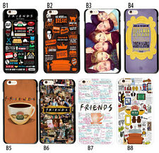 Friends TV Show Collage Case Soft TPU Cover For iPhone X 6S 7 8 Plus Galaxy S9