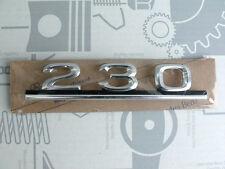 Original Mercedes Schriftzug / Typbezeichnung / Typkennzeichen W123 230 NEU!