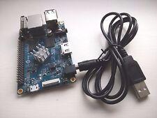 Naranja Pi PC H3 procesador de cuatro núcleos GPU Mali 400MP2 1GB DDR3 con cable de alimentación USB