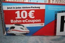 *Schnellversand* 10 Euro Deutsche Bahn (DB) Bahn-eCoupon Gutschein - hin & weg