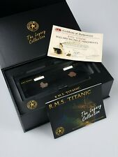 "Genuine RMS TITANIC - 'Legacy Collection' Bollard & ""Big Piece"" Fragments"
