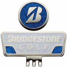 BRIDGESTONE (Bridgestone) cap Golf marker GAG401 WB (white / blue)