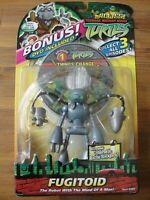 TMNT Teenage Mutant Ninja Turtles FUGITOID Figure - With Bonus DVD Brand New