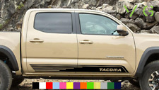 Toyota Tacoma Vinyl Decal Sticker Graphics TRD Sport Side Door x2 ANY COLOR- 006