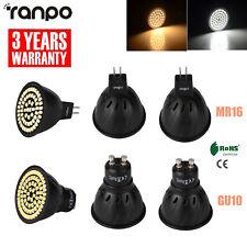 5x 10x BOMBILLAS LED FOCO MR16 GU10 5w 7w 2835SMD CA 220v Lámparas