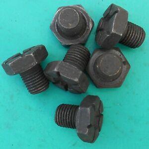 NOS MOPAR 6 flex plate to crankshaft bolts 1962-1989 slant 6 & wedge V8 1949424