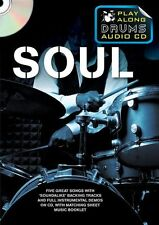 Play-Along Drums Soul Learn to Play Otis Reading James Brown CD Sheet Music