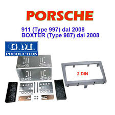 SET PANEL DOUBLE 2 DIN PORSCHE 911 (997) and BOXTER (987) from 2008 - GREY