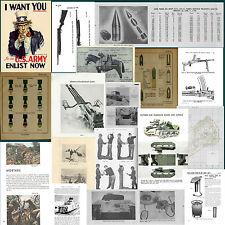 scavo relic fascio STATI UNITI WWII WW2  USA RACCOLTA DI 66 MANUALI FORMATO PDF