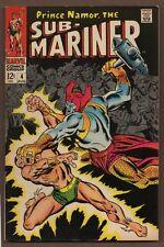 Sub-Mariner #4 - Epic Battle - 1968 (8.0) Wh