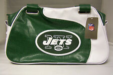 New York Jets Perf-ect Bowler Handbag Purse Tote Personal Organizer