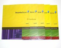 ROSETTA STONE WORKBOOKS HOMESCHOOL US ENGLISH 1 2 3 4 5