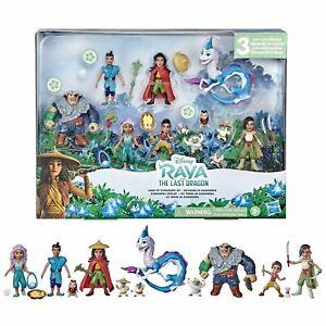 Disney's Raya and the Last Dragon Land of Kumandra Figurine COMPLETE SET (NIP)