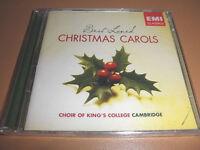 EMI classics BEST loved X-MAS CAROLS cd CHOIR OF KING's COLLEGE cambridge 50 trk