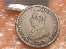 1783 Washington & Independence Large Military Bust Revolutionary War Era Cent #2