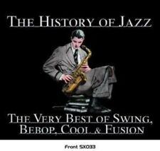 THE HISTORY OF JAZZ/SWING TO F -  F. SINATRA, LOUIS ARMSTRONG-BOX-SET 5 CD NEUF