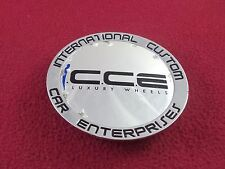 International Custom Car Ent. Wheels Chrome Custom Wheel Center Cap # 857K100