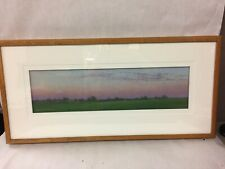 "Framed Signed ""Evensong"" Pastel Painting by Lee Kimball 1998"