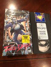 Twice Dead, VHS, 1990,Horror,  Jill Whitlow Tom Breznahan Todd Bridges