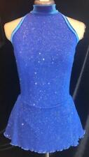 Royal Blue Figure Ice Skating Competition Dress