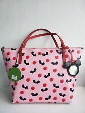 BNWT Disney Parks Kate Spade Mickey/Minnie Mouse Ear Hat Tote Bag Purse - Pink