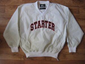 Vintage Starter USA V-Neck Nylon Jacket.Size L