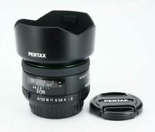 HD PENTAX FA 35mm F2 Wide Angle Lens - Black - Mint