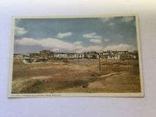 Pueblo of Laguna New Mexico Native American Indians Fred Harvey Postcard