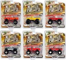 Kings Of Crunch Set Of 6 Monster Trucks Series 8 1/64 Diecast Model Cars By