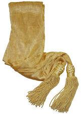 ACW Civil War Union Or Confederate Repro Buff General Officers Silk Sash