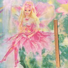 Barbie Fairytopia Cotton? Pillow Case/slip Fabric Mattel TM Magic Rainbow