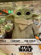 Mandalorian The child Baby Yoda motoriced With Remote Control & Free Lithograph